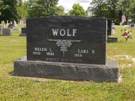 HARSHMAN WOLF, HELEN - Trumbull County, Ohio | HELEN HARSHMAN WOLF - Ohio Gravestone Photos