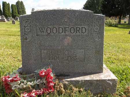 WOODFORD, BERTHA LUCILE - Trumbull County, Ohio   BERTHA LUCILE WOODFORD - Ohio Gravestone Photos
