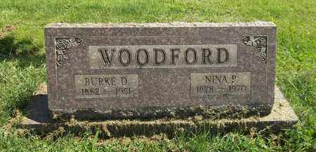 WOODFORD, BURKE D. - Trumbull County, Ohio | BURKE D. WOODFORD - Ohio Gravestone Photos