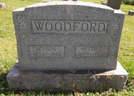 WOODFORD, NETTE G. - Trumbull County, Ohio | NETTE G. WOODFORD - Ohio Gravestone Photos