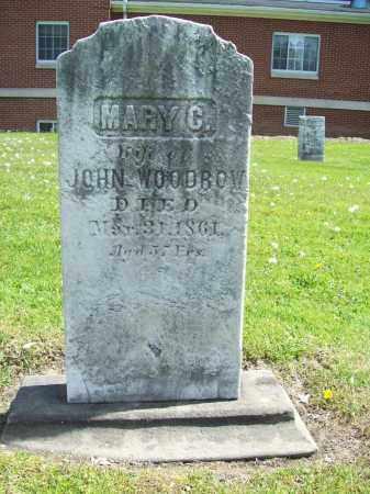 WOODROW, MARY - Trumbull County, Ohio | MARY WOODROW - Ohio Gravestone Photos