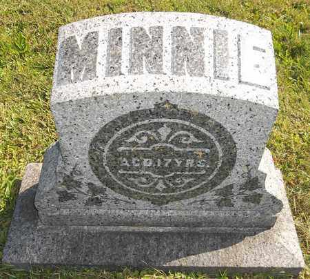 WOODRUFF, MINNIE - Trumbull County, Ohio | MINNIE WOODRUFF - Ohio Gravestone Photos