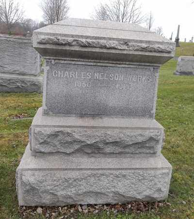 WORKS, CHARLES NELSON - Trumbull County, Ohio | CHARLES NELSON WORKS - Ohio Gravestone Photos