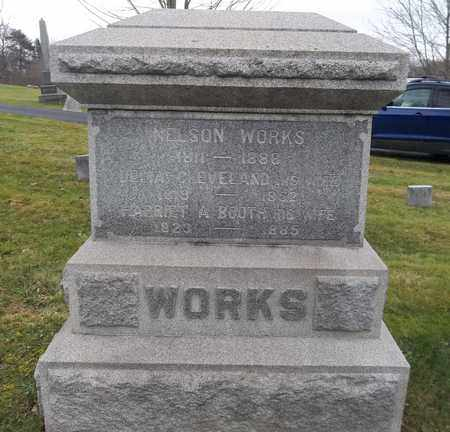 WORKS, HARRIET A. - Trumbull County, Ohio | HARRIET A. WORKS - Ohio Gravestone Photos