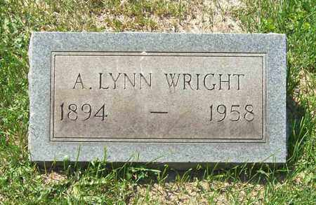 WRIGHT, A. LYNN - Trumbull County, Ohio | A. LYNN WRIGHT - Ohio Gravestone Photos