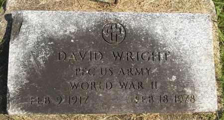 WRIGHT, DAVID - Trumbull County, Ohio | DAVID WRIGHT - Ohio Gravestone Photos