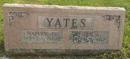 YATES, CORA A. - Trumbull County, Ohio | CORA A. YATES - Ohio Gravestone Photos