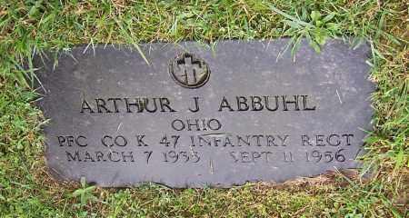 ABBUHL, ARTHUR J. - Tuscarawas County, Ohio | ARTHUR J. ABBUHL - Ohio Gravestone Photos