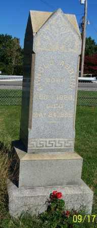 ABBUHL, ARNOLD - Tuscarawas County, Ohio | ARNOLD ABBUHL - Ohio Gravestone Photos