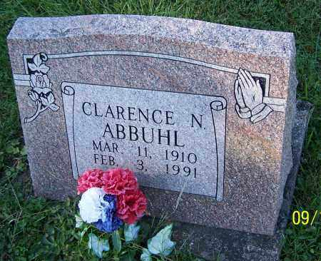 ABBUHL, CLARENCE N. - Tuscarawas County, Ohio | CLARENCE N. ABBUHL - Ohio Gravestone Photos