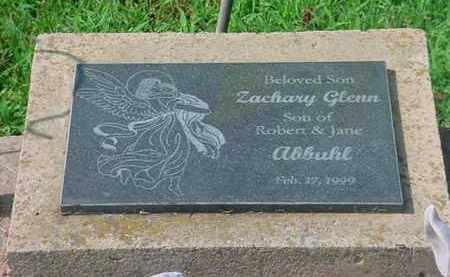 ABBUHL, ZACHARY GLENN - Tuscarawas County, Ohio | ZACHARY GLENN ABBUHL - Ohio Gravestone Photos