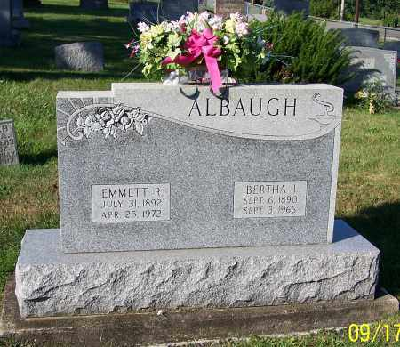 ALBAUGH, EMMETT R. - Tuscarawas County, Ohio | EMMETT R. ALBAUGH - Ohio Gravestone Photos