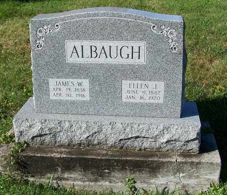 LEGGETT ALBAUGH, ELLEN J. - Tuscarawas County, Ohio | ELLEN J. LEGGETT ALBAUGH - Ohio Gravestone Photos