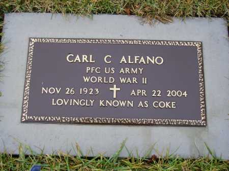 ALFANO, CARL C. - Tuscarawas County, Ohio | CARL C. ALFANO - Ohio Gravestone Photos