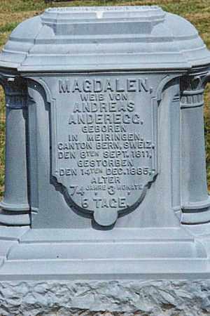 OTTH ANDEREGG, MAGDALEN - Tuscarawas County, Ohio | MAGDALEN OTTH ANDEREGG - Ohio Gravestone Photos