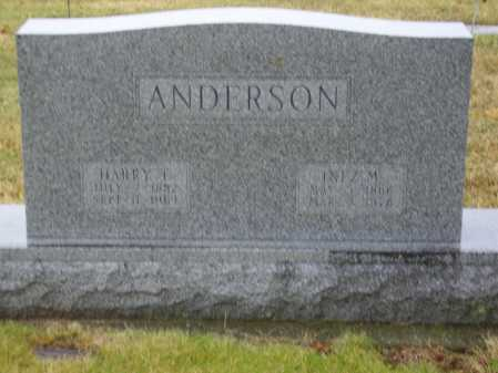 ANDERSON, HARRY T. - Tuscarawas County, Ohio | HARRY T. ANDERSON - Ohio Gravestone Photos
