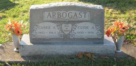 ARBOGAST, CLYDE A - Tuscarawas County, Ohio | CLYDE A ARBOGAST - Ohio Gravestone Photos