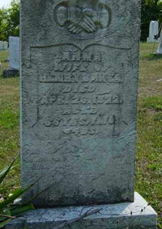 MIDDAUGH BAKER, ANNA - Tuscarawas County, Ohio | ANNA MIDDAUGH BAKER - Ohio Gravestone Photos