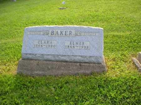 BAKER, ELMER - Tuscarawas County, Ohio | ELMER BAKER - Ohio Gravestone Photos