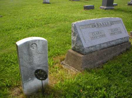 WOLF BAKER, CLARA - Tuscarawas County, Ohio | CLARA WOLF BAKER - Ohio Gravestone Photos