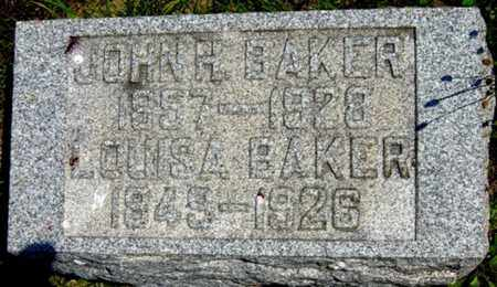 BAKER, LOUISA - Tuscarawas County, Ohio | LOUISA BAKER - Ohio Gravestone Photos