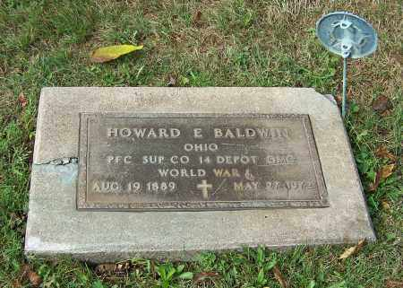 BALDWIN, HOWARD E.  (MIL) - Tuscarawas County, Ohio | HOWARD E.  (MIL) BALDWIN - Ohio Gravestone Photos