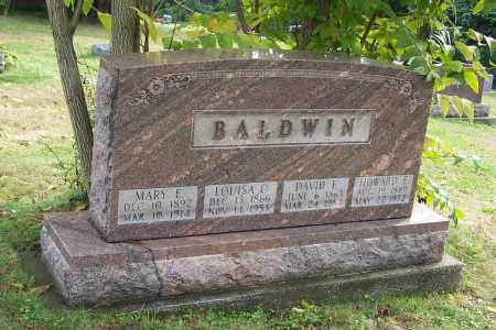 BALDWIN, DAVID E. - Tuscarawas County, Ohio | DAVID E. BALDWIN - Ohio Gravestone Photos