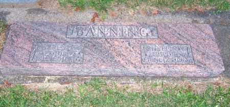 BANNING, FORREST D - Tuscarawas County, Ohio | FORREST D BANNING - Ohio Gravestone Photos