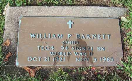 BARNETT, WILLIAM P.  (MIL) - Tuscarawas County, Ohio   WILLIAM P.  (MIL) BARNETT - Ohio Gravestone Photos