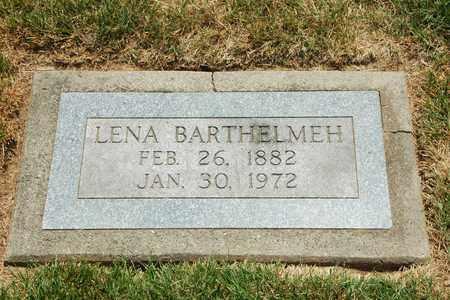 BARTHELMEH, LENA - Tuscarawas County, Ohio | LENA BARTHELMEH - Ohio Gravestone Photos
