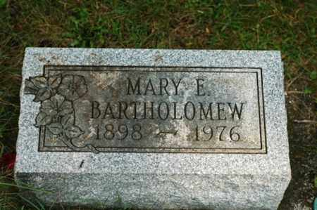 BARTHOLOMEW, MARY ELLEN - Tuscarawas County, Ohio | MARY ELLEN BARTHOLOMEW - Ohio Gravestone Photos