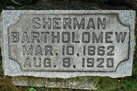 BARTHOLOMEW, SHERMAN - Tuscarawas County, Ohio | SHERMAN BARTHOLOMEW - Ohio Gravestone Photos