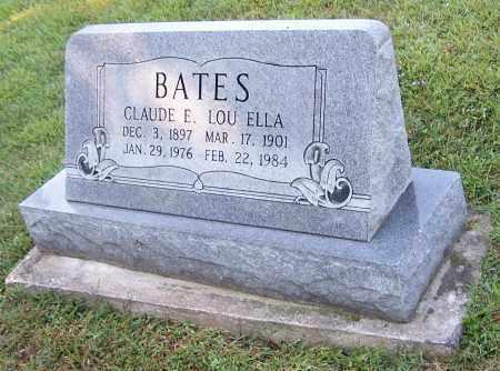 BATES, LOU ELLA - Tuscarawas County, Ohio | LOU ELLA BATES - Ohio Gravestone Photos