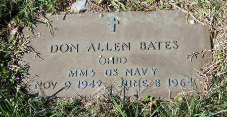 BATES, DON ALLEN   (MIL) - Tuscarawas County, Ohio | DON ALLEN   (MIL) BATES - Ohio Gravestone Photos