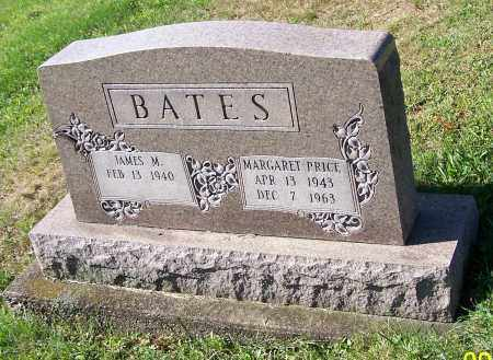 BATES, MARGARET PRICE - Tuscarawas County, Ohio | MARGARET PRICE BATES - Ohio Gravestone Photos