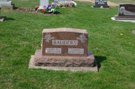 BAUDERS, EARL H. - Tuscarawas County, Ohio | EARL H. BAUDERS - Ohio Gravestone Photos