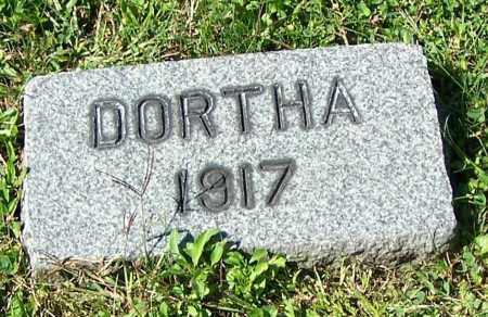 BEAMER, DORTHA - Tuscarawas County, Ohio | DORTHA BEAMER - Ohio Gravestone Photos