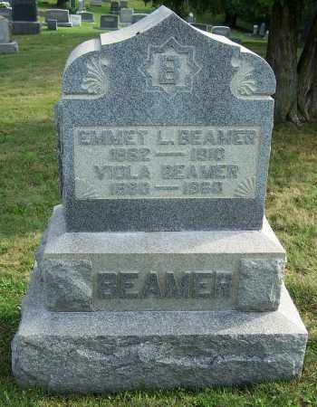 BEAMER, EMMET - Tuscarawas County, Ohio | EMMET BEAMER - Ohio Gravestone Photos