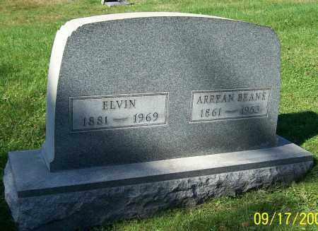 BEANS, ELVIN - Tuscarawas County, Ohio | ELVIN BEANS - Ohio Gravestone Photos