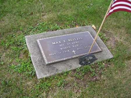 BEITZEL, MAX EUGENE - Tuscarawas County, Ohio | MAX EUGENE BEITZEL - Ohio Gravestone Photos