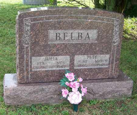 BELBA, PETE  (SR) - Tuscarawas County, Ohio | PETE  (SR) BELBA - Ohio Gravestone Photos