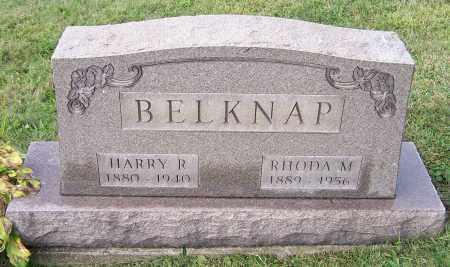 BELKNAP, RHODA M. - Tuscarawas County, Ohio | RHODA M. BELKNAP - Ohio Gravestone Photos