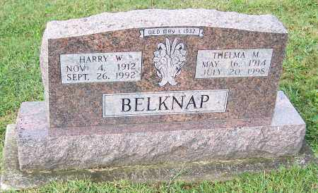 BELKNAP, HARRY W. - Tuscarawas County, Ohio | HARRY W. BELKNAP - Ohio Gravestone Photos