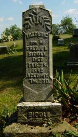 BIDDLE, FREDERIC - Tuscarawas County, Ohio | FREDERIC BIDDLE - Ohio Gravestone Photos