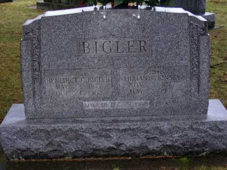 KINSEY BIGLER, LILLIAN G. - Tuscarawas County, Ohio | LILLIAN G. KINSEY BIGLER - Ohio Gravestone Photos