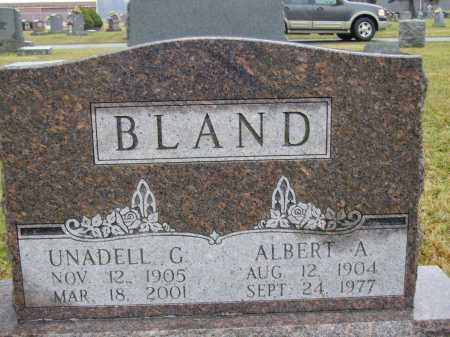 BLAND, ALBERT A. - Tuscarawas County, Ohio | ALBERT A. BLAND - Ohio Gravestone Photos