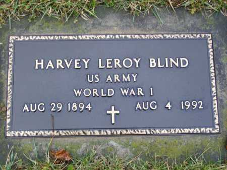 BLIND, HARVEY LEROY - Tuscarawas County, Ohio | HARVEY LEROY BLIND - Ohio Gravestone Photos