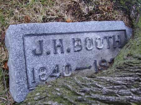 BOOTH, JOHN HENRY CLOSEVIEW - Tuscarawas County, Ohio | JOHN HENRY CLOSEVIEW BOOTH - Ohio Gravestone Photos