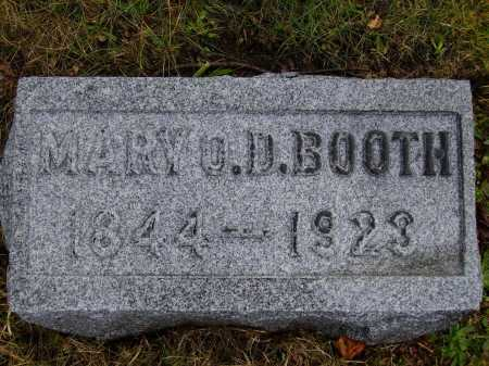 BOOTH, MARY - Tuscarawas County, Ohio | MARY BOOTH - Ohio Gravestone Photos