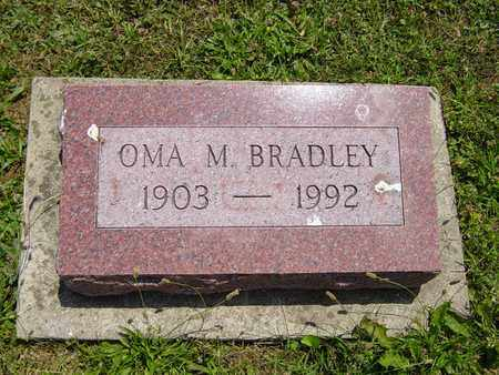 BRADLEY, OMA M. - Tuscarawas County, Ohio | OMA M. BRADLEY - Ohio Gravestone Photos